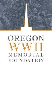 Oregon WWII Memorial Logo
