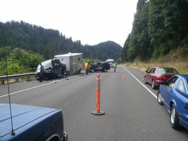 Fatal Traffic Crash - Highway 126W Near Mapleton