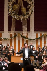 Wallace Long, director of choirs courtesy Willamette University