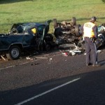 hree vehicle fatal traffic crash that occurred on Highway 22W just west of the intersection with Highway 51 west of Salem