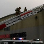 Laminate Press Fire at Panolam Industries Albany, Oregon